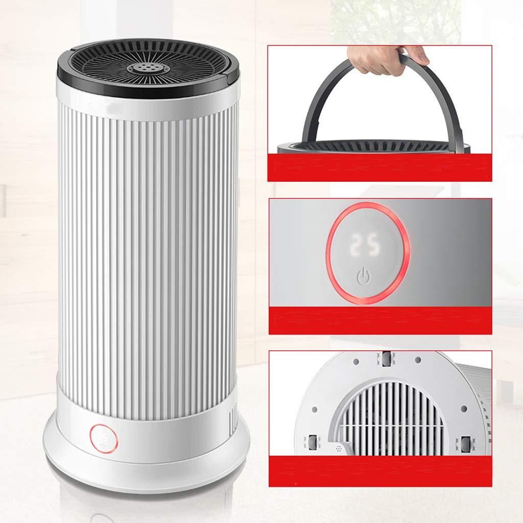 Calentadores THBEIBIE Inteligente de Control Remoto de Aire Caliente soplador (Color : Blanco, Tamaño : 340 * 687mm): Amazon.es: Hogar