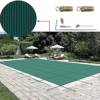 Happybuy Pool Safety Cover Inground Safety Pool Cover Solid Pool Safety Cover for Swimming Pool Winter Safety Cover from Happybuy