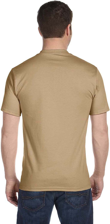Hanes Men's Short Sleeve Beefy T-Shirt Pebble