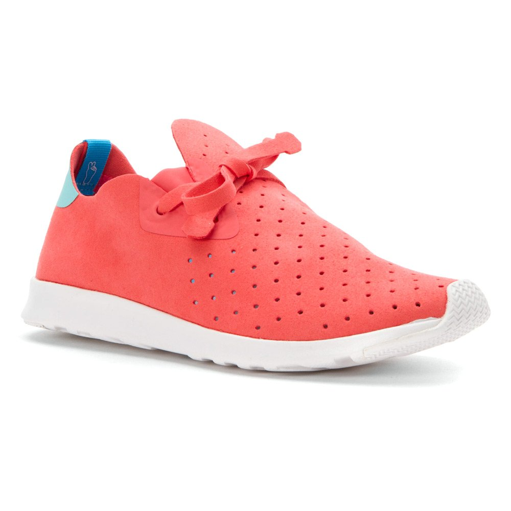 Native Unisex Apollo Moc Fashion Sneaker. B011PLNYN2 15 B(M) US Women / 13 D(M) US Men|Snapper Red/Cabo Blue/Shell White