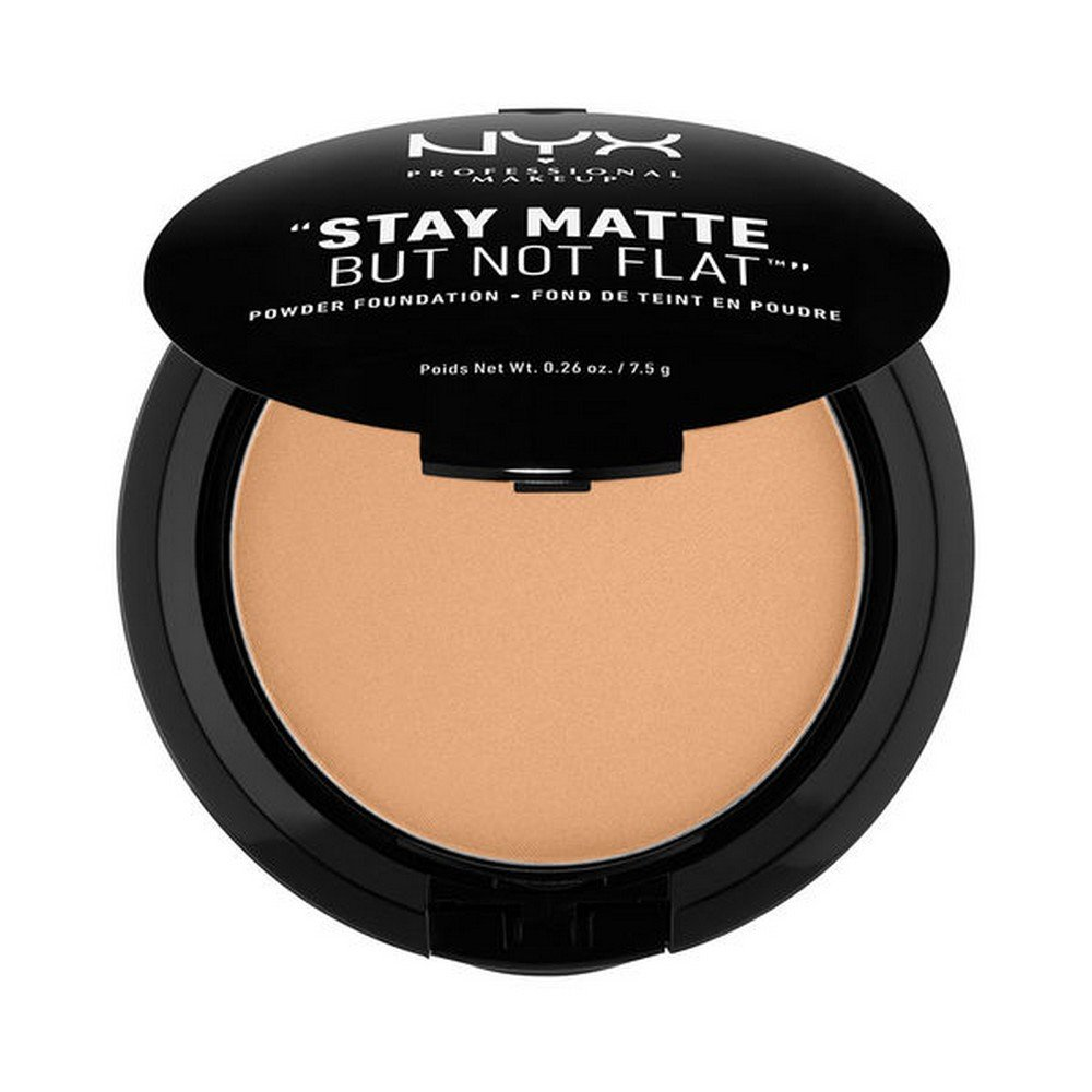 NYX PROFESSIONAL MAKEUP Stay Matte but not Flat Powder Foundation, Tan, 0.26 Ounce NYX-9810
