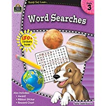 Ready-Set-Learn: Word Searches Grd 3