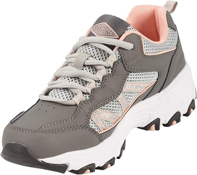 Steel Edge Walking Shoes with Arch Support