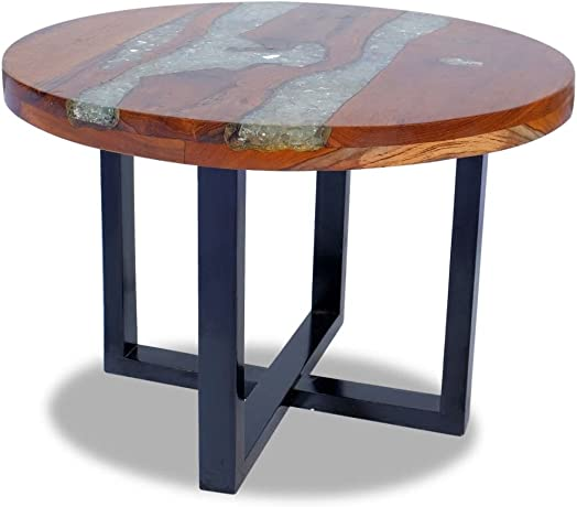 Coffee Table Vintage | Round Cocktail Table