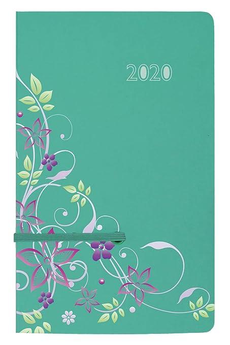 Idena 11415 - Agenda 2020, A5, textil, color verde: Amazon ...