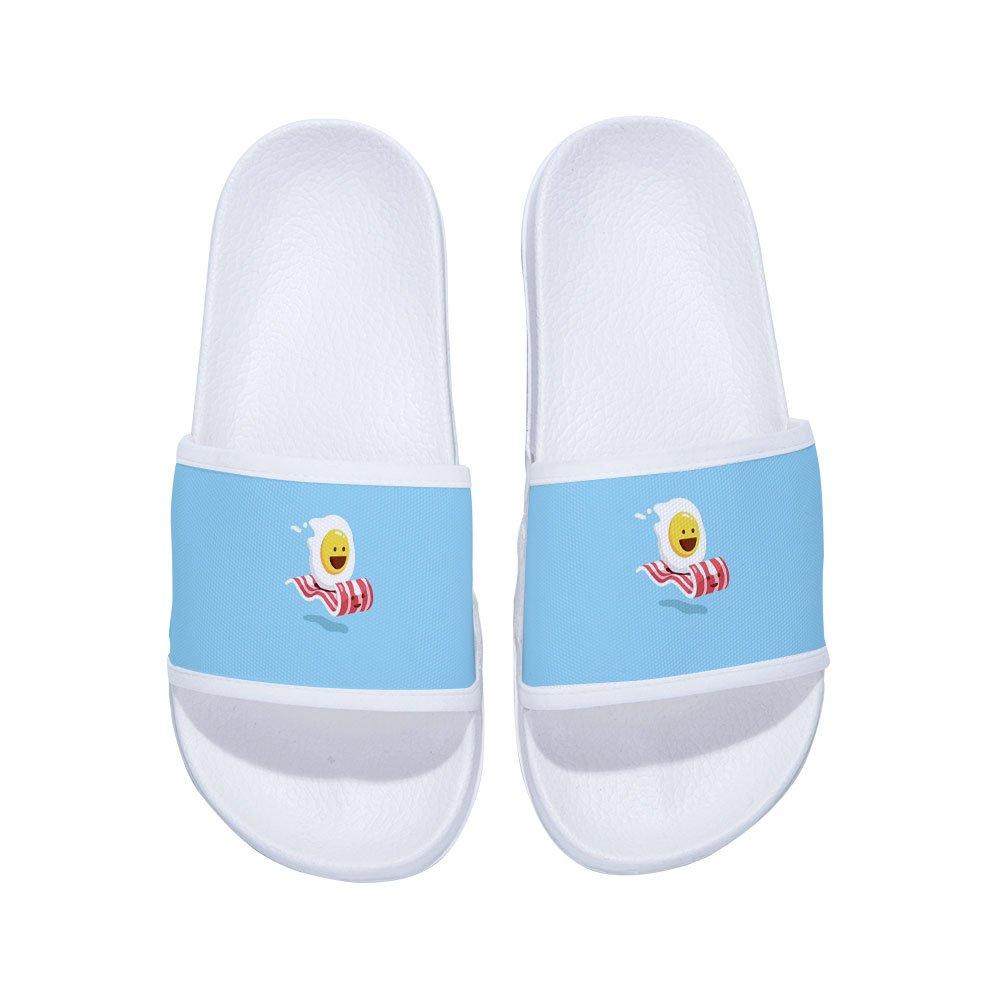MingDe Sports Boys Girls Slide Sandals Comfortable Soft Bathroom Sandal Shower Slippers with Starry Sky
