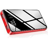 HuaF Externer Akku Powerbank 25000mAh Große Kapazität Handy Ladegerät Tragbares Ladegerät mit 2 USB Port für Handy Smartphones Tablette