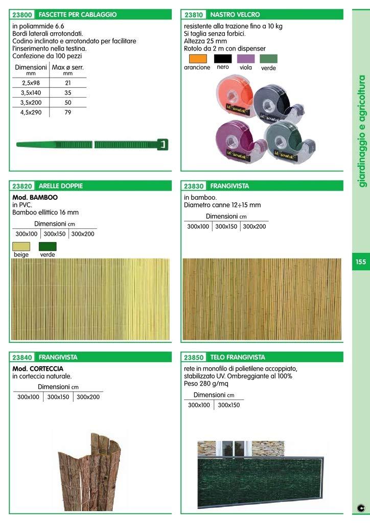 FRANGIVISTA CORTECCIA DIMENSIONI CM.150X300 Cartomatica Confezione da 1PZ