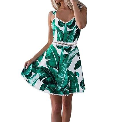 new styles aba9a e00a3 Zolimx Vestito Verde Delle Donne, Vestito Da Estate,Vestiti ...