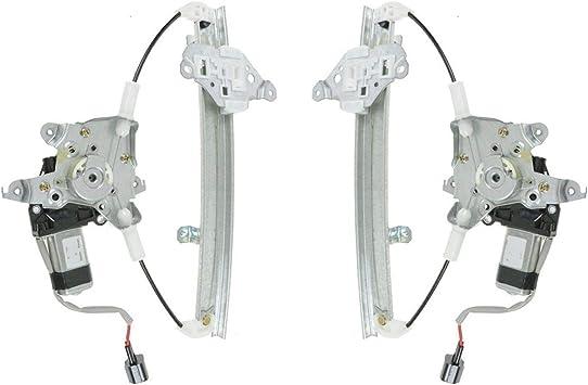 Rear Power Window Regulator w// Motor LR RR Set Pair for 99-03 Acura TL Brand New