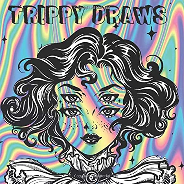 Amazon.com: TRIPPY DRAWS: Coloring Book For A Surreal Experience  (9798663004589): MEYN, ANA: Books