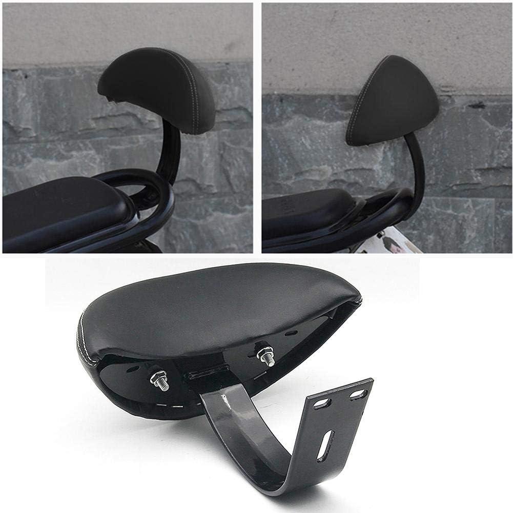 Semplice Cuscino Universale per Schienale Moto Cuscino Posteriore per Moto con Batteria Posteriore modificata Mona43Henry
