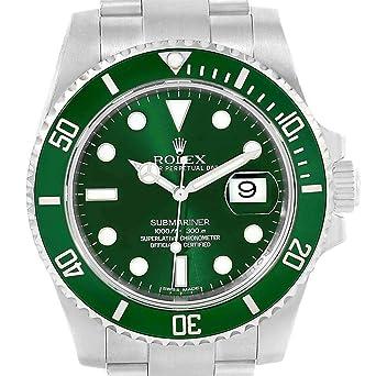 purchase cheap ce92f d0c2a Amazon | ロレックス サブマリナー 自動巻きメンズ腕時計 116610 ...