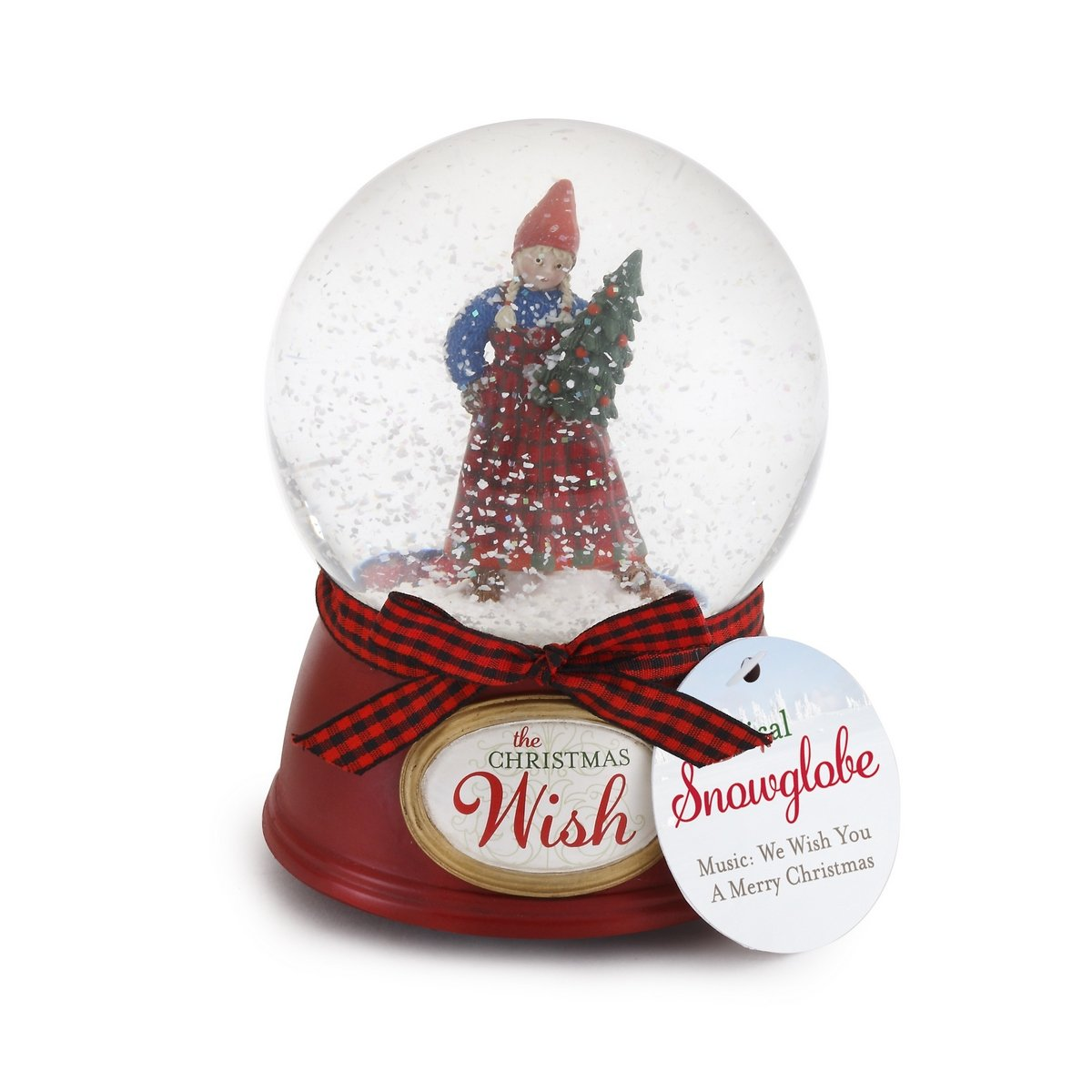 【あす楽対応】 The Christmas Christmas Wish Anja Globe on Polar Bear Musical Snow Anja Globe B01BECS5YK, プリントポット:7c223395 --- arianechie.dominiotemporario.com