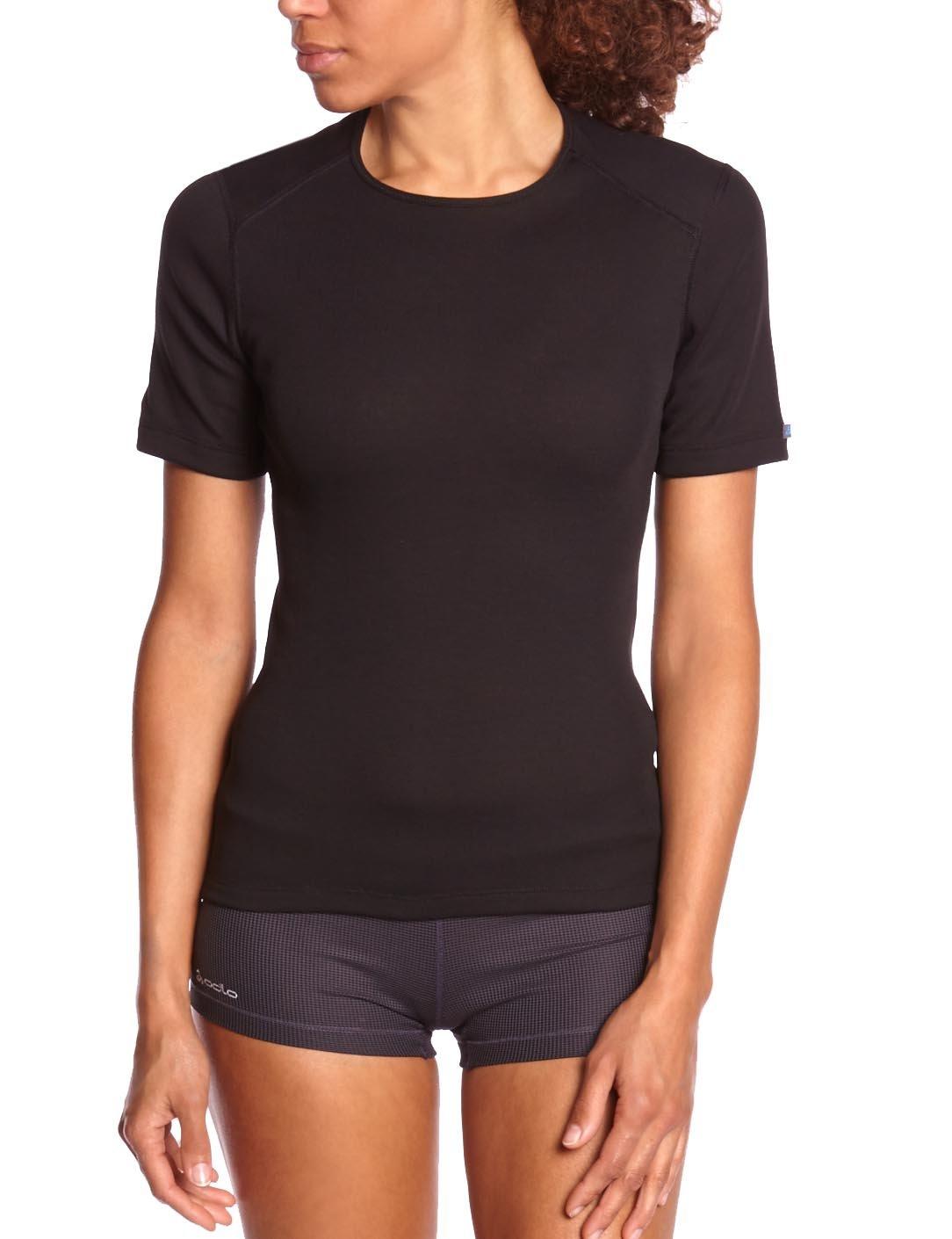 Odlo Damen Shirt Short Sleeve Crew Neck Warm