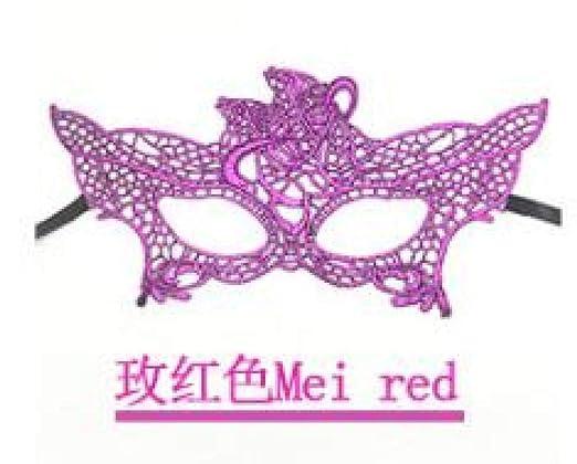 MIANJUMJ Máscara De Halloween para Mujer, Prom Sexy Bar Tema Ball ...