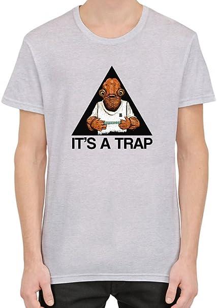 It s A Trap Camiseta Hombres Mujeres Small  Amazon.es  Ropa y accesorios 588c9ccd6f7