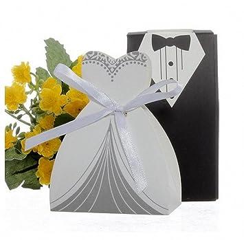 Amazon 100pcs50 Pairsbride Groom Cheap Wedding Party Favors