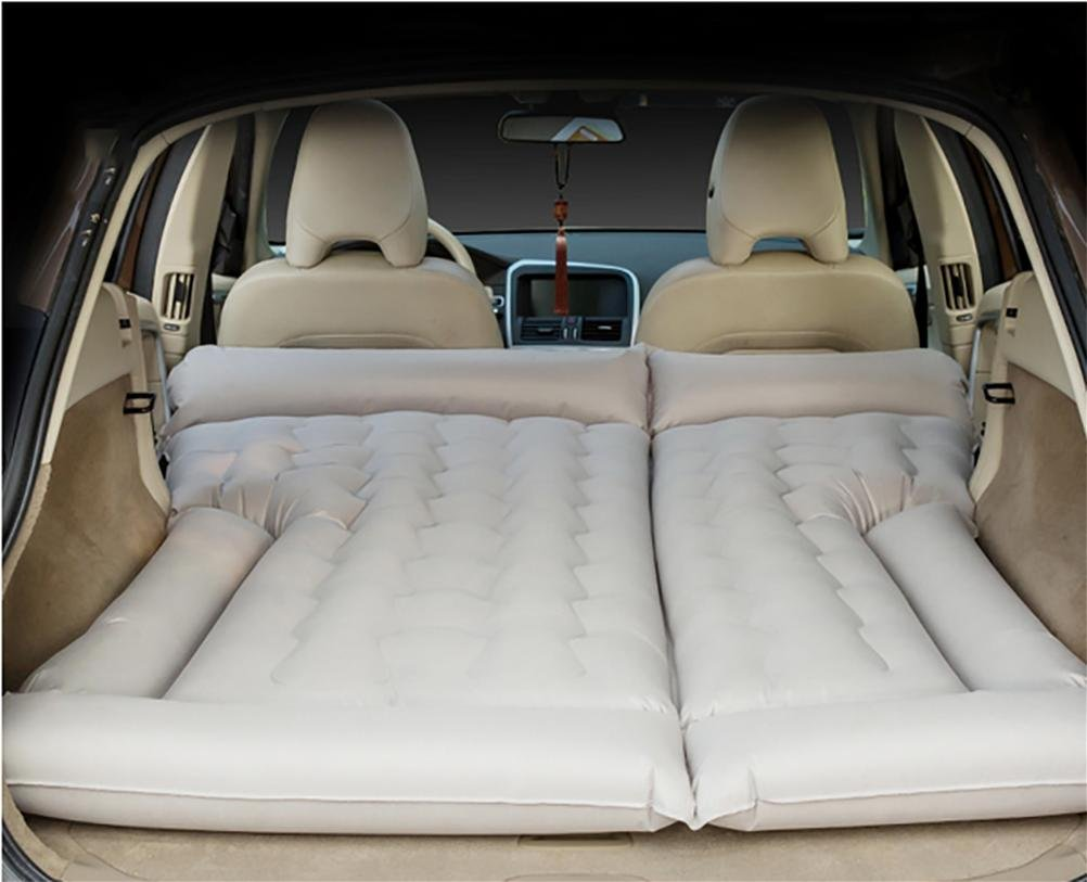 Lameila SUV Car Mattress 4/6 Split Inflatable Mattress Trunk Air Bed