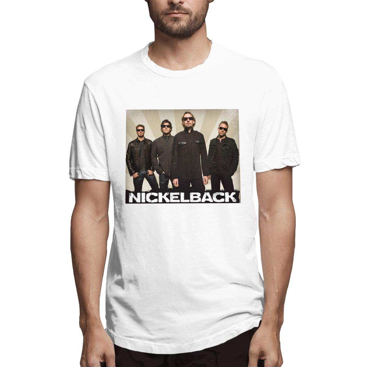 S Nickelback Ultra Soft Crew Neck Short Sleeve T Shirt For S