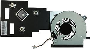 Power4Laptops Replacement Laptop Fan with Heatsink for Acer Aspire ES1-512-C4FR, Acer Aspire ES1-512-C5YW, Acer Aspire ES1-512-C88M, Acer Aspire ES1-512-C8XK, Acer Aspire ES1-512-P9GT