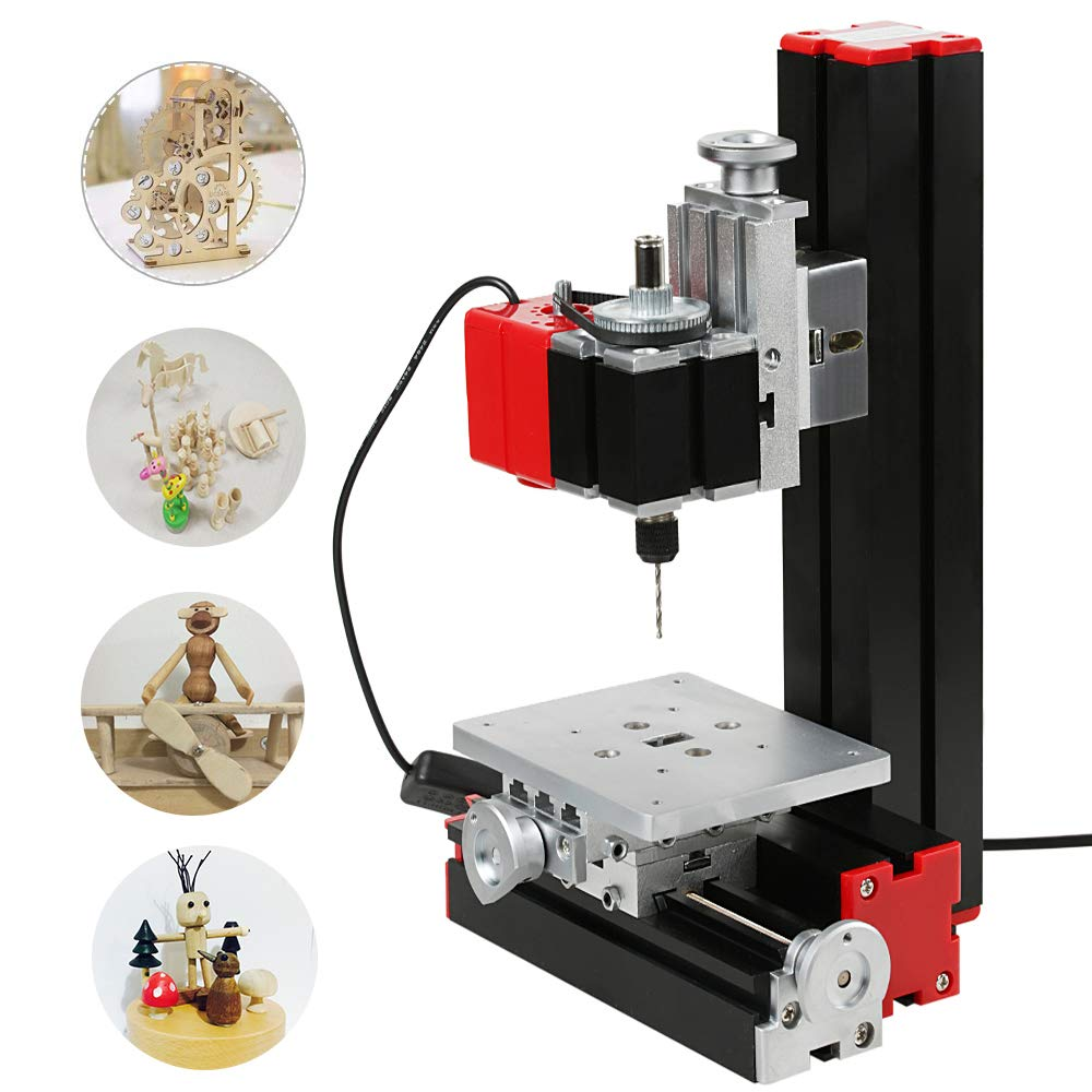 Kkmoon Diy 6 In 1 Multifunctional Small Milling Machine For Sale