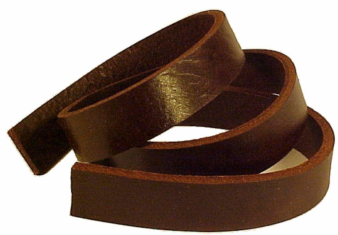 1 x 60 BROWN BUFFALO Leather Strip 8-10oz LeatherRush
