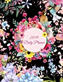 "2019 Daily Planner: Beautiful Flower Garden, Daily Calendar Book 2019, Weekly/Monthly/Yearly Calendar Journal, Large 8.5"" x 11"" 365 Daily journal ... Agenda Planner, Calendar Schedule Organizer"