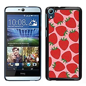 iKiki Tech / Estuche rígido - Sun Pink Bayas - HTC Desire D826