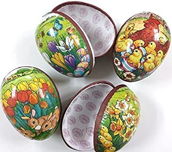 4 large decorated easter egg fillable cardboard 45 gift boxes 4 large decorated easter egg fillable cardboard 45quot gift boxes negle