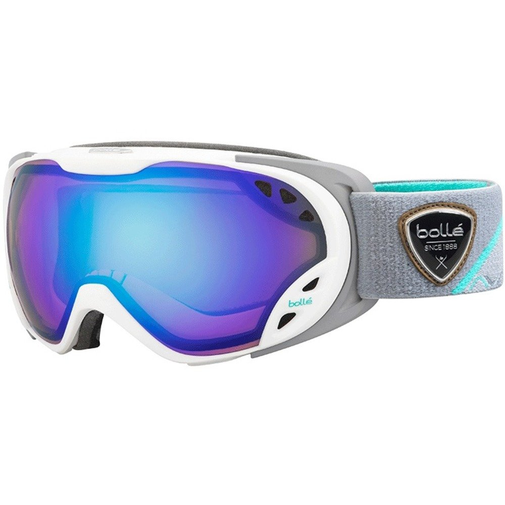 Bolle Winter Duchess Light Control 21626 Modulator Ski Goggles, White/Grey by Bolle