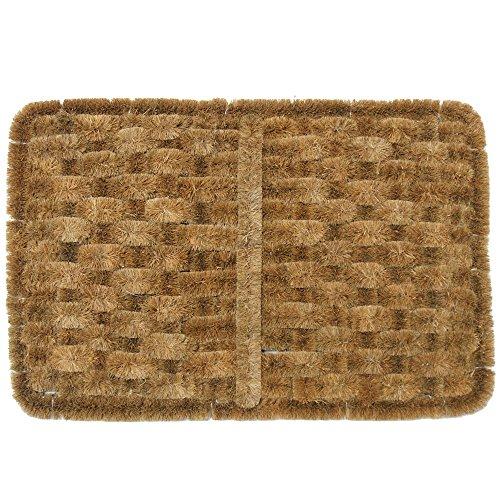 """Cheap Rubber-Cal """"Shiraz Outdoor Scraper Door Mat, 16 by 24-Inch"""