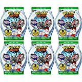 6 Blind Bags: Yo-Kai Watch Series 3 Medals - 18 Random Medals