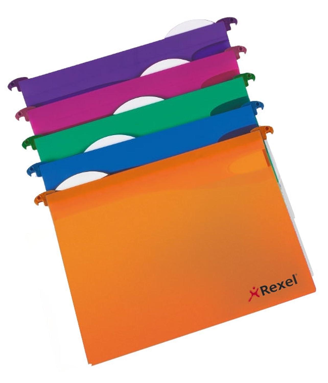 Protocollo File 30 mm Rexel Multifile Extra Cartella Sospesa Confezione da 10