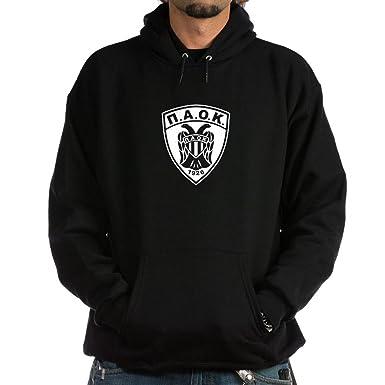 b3c817adffa CafePress PAOK Hoodie Pullover Hoodie, Classic & Comfortable Hooded  Sweatshirt Black