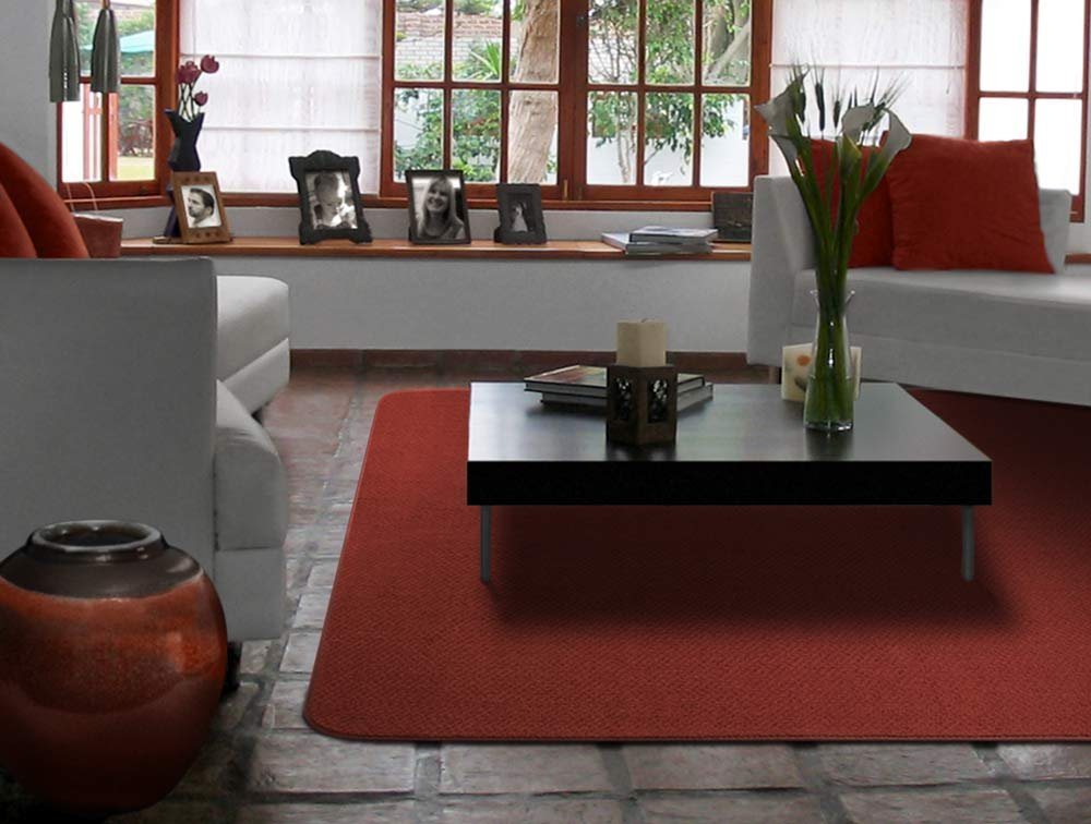 Home and More Skid-resistant Carpet Indoor Area Rug Floor Mat Brick Red House 2 X 3 Brick Red Many Other Sizes to Choose From Home and More Skid-resistant Carpet Indoor Area Rug Floor Mat Many Other Sizes to Choose From 2/' X 3/'