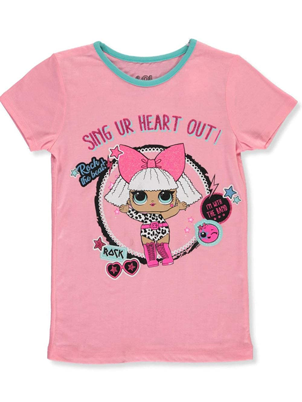LOL Surprise Girls Diva Rock T-Shirt