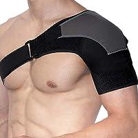 Hombreras de Soporte Hombrera Ortopedica para Compresion y Estabilización o Alinear el Hombro Shoulder Stability Brace Protector de Hombro Luxado Dislocado Esguince Lesiones luxación Apoyo de Sstabilidad