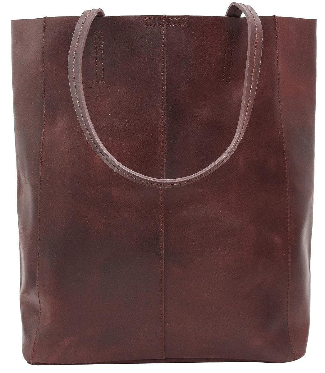 Gusti Leder studio Cassidy sac de shopping sac en cuir sac pour femmes sac pour loisirs sac pour l/école sac /à main cuir de vachette rouge bordeaux 2H51-33-9