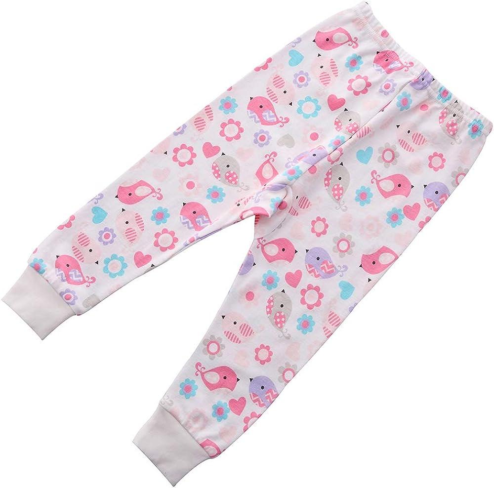 benetia Girls Cotton Long Seeve Pajamas Set
