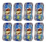 Set of 24 Disposable Aluminum Medium Size Loaf Pans (24)