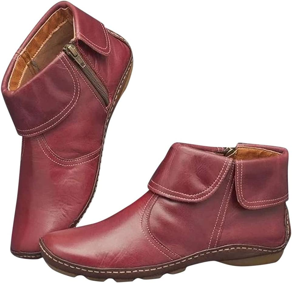 Boots for Women Ankle Booties Hessimy