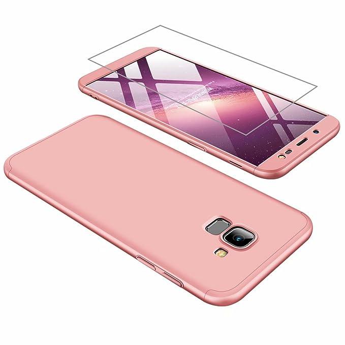 134 opinioni per Custodia Samsung J6 2018 Cover AILZH 360°Copertura protettiva case PC Guscio