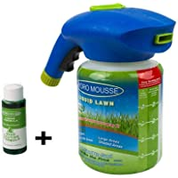 Apostasi Hand held Garden Lawn Sprayer, Seed Liquid Hydro Seeding System Pump Pressure Water Sprayers Pressurized Pump Plant Water Sprayer for Household Grass Care and Plants