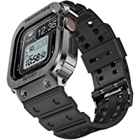 $39 » amBand Bands Case Compatible with Apple Watch 44mm, Moving Fortress Rugged…