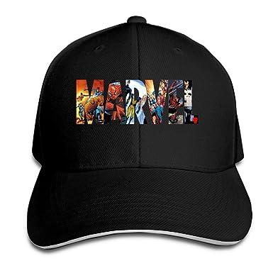 biotio Marvel Sandwich gorra gorras de béisbol/sombreros ajustable ...