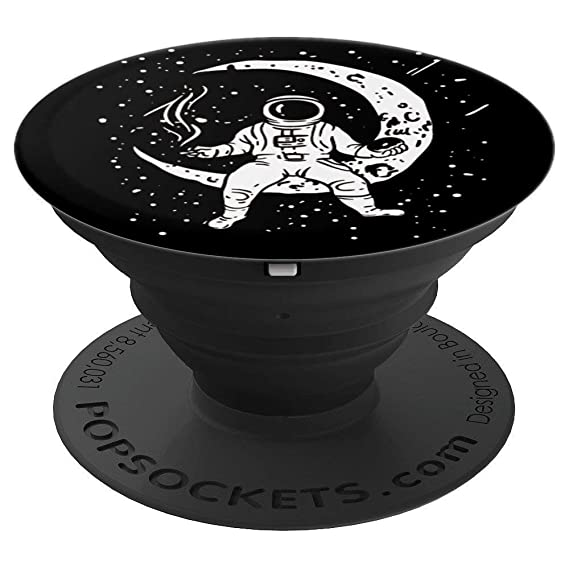 0c94239f076 Image Unavailable. Image not available for. Color  Galaxy Astronaut Weed  Donut Smoking Spaceman Joint Marijuana ...