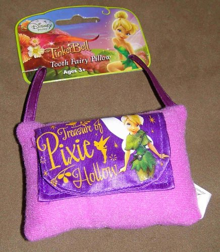 DISNEY FAIRIES TINKERBELL TREASURE OF PIXIE HOLLOW PURPLE TOOTH FAIRY -