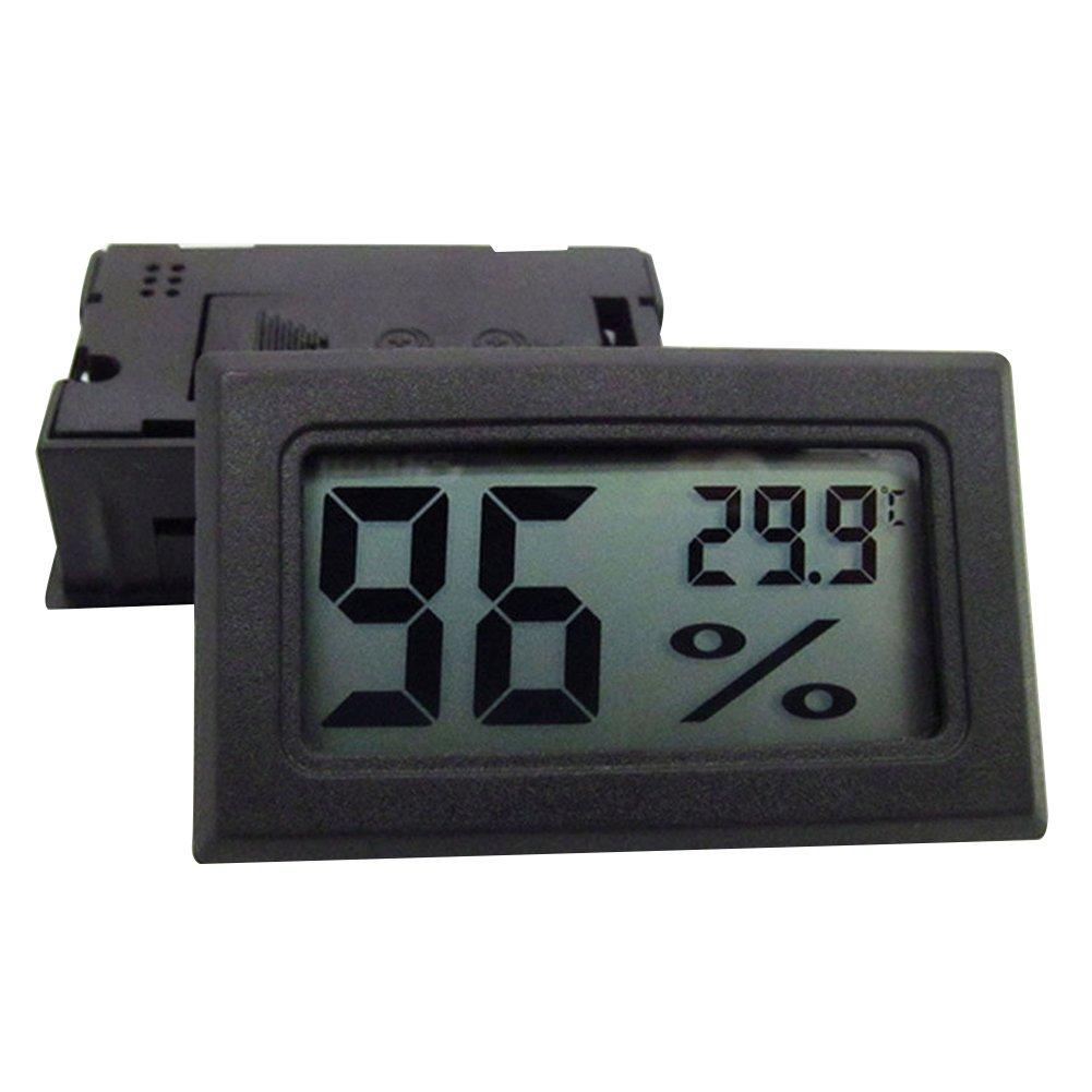 Yamalans Mini Digital LCD Indoor Temperature Humidity Meter Thermometer Hygrometer Gauge