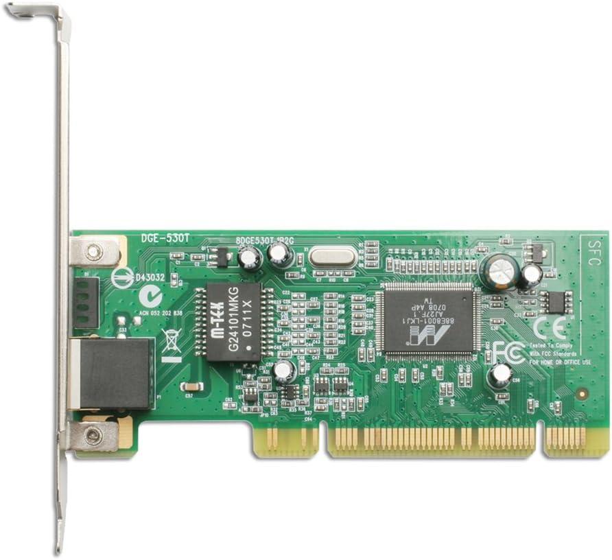 D-Link PCI Gigabit Fast Ethernet Network Adapter Card 10/100/1000 Desktop PC (DGE-530T)